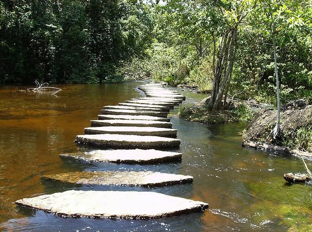Parque La Llovizna in Ciudad Guayana, Estado Bolivar, Venezuela