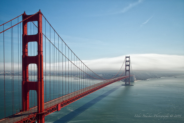 Golden Gate Bridge, San Francisco - the most photographed bridge in the world.Travel infos: http://www.sanfrancisco.com/
