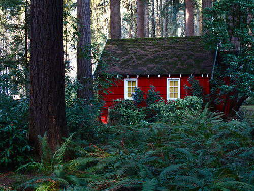 Forest Cottage, The Grotto, Oregon
