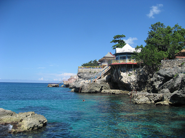 by kathyylchan on Flickr.Xtabi cove - Negril, Jamaica.