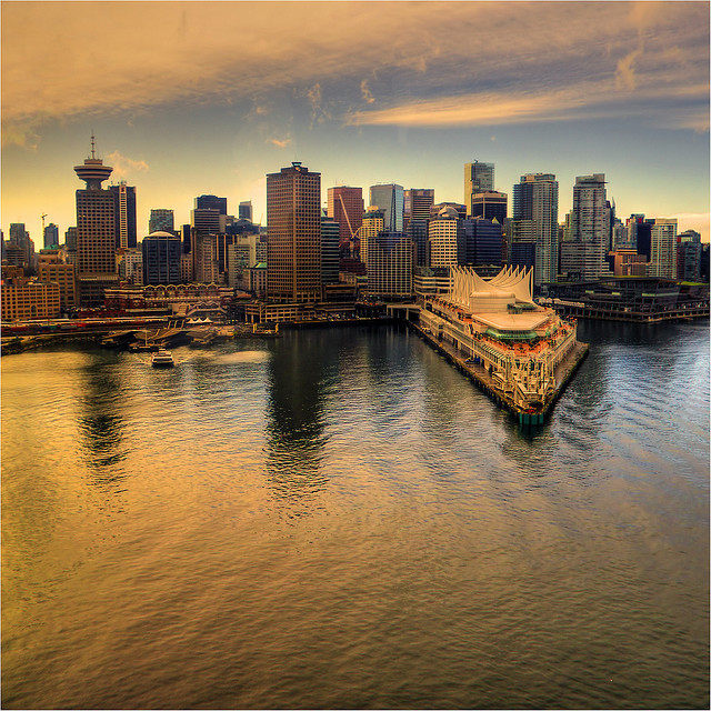 by ecstaticist on Flickr.Vancouver Waterfront - British Columbia, Canada.