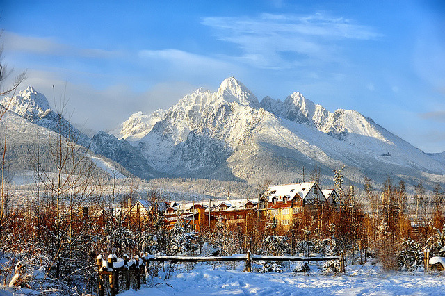 by Edgar Barany on Flickr.Winter landscape from Tatra Mountains in Slovakia.