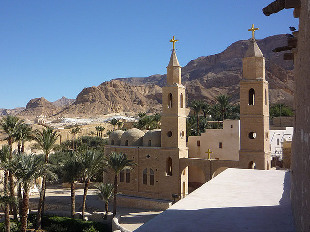 by Miami Love 1 on Flickr.Monastery of St Anthony the Great in Hurghada, Egypt.