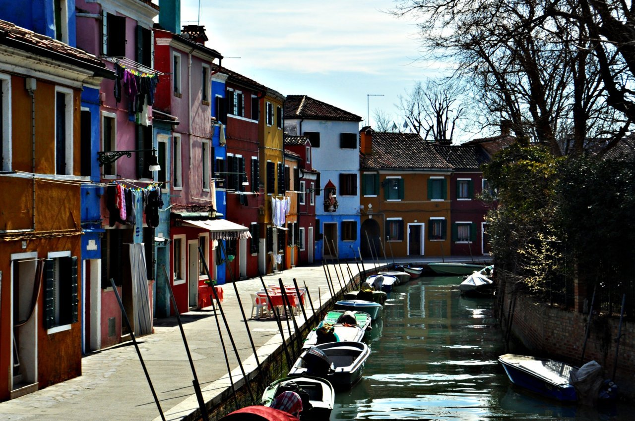 "travelingcolors:"" Burano, Venice  Italy"" Photo taken by me "" """