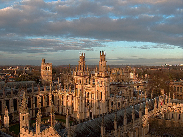 All Souls College, Oxford University, England