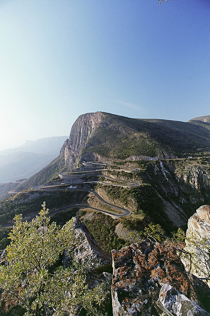 Mountain pass in Serra da Leba, Lubango, Angola