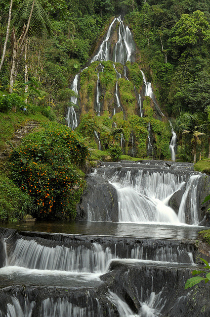 Thermal waters at Santa Rosa de Cabal, Colombia