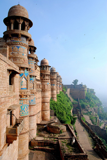 The place which has the first ever recorded use of number zero, Gwalior Fort, India