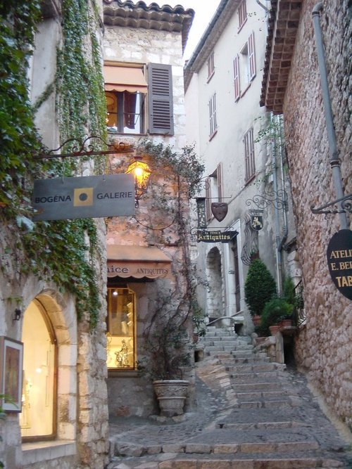 Stairways, St. Paul de Vence, France