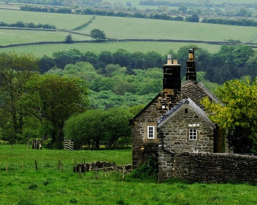 Ancient Stone House, Derbyshire, England