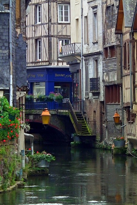 Riverside, Normandy, France