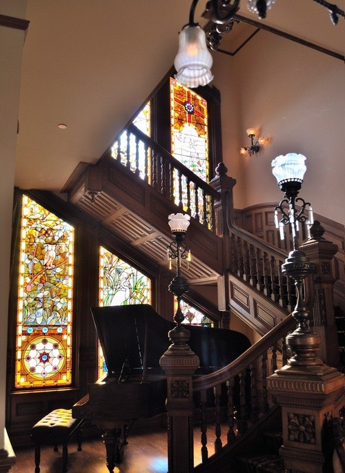 Stained Glass Stairway, San Diego, California