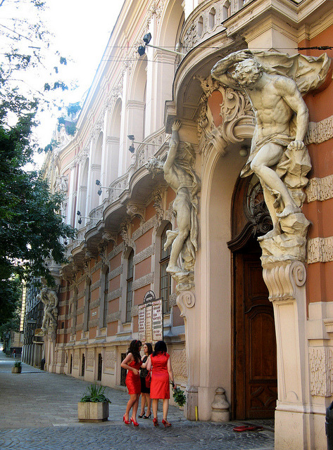 House of the Scientists in Lviv, Ukraine