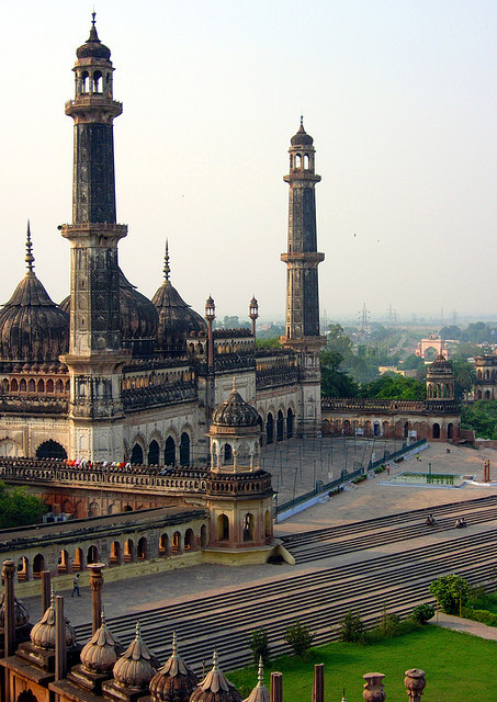 Asfi Mosque at Bara Imambara Complex in Lucknow, India