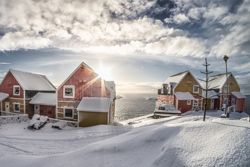 Scenic views in Greenland