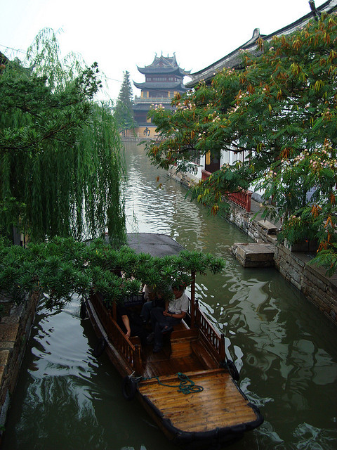 Zhujiajiao water town / China