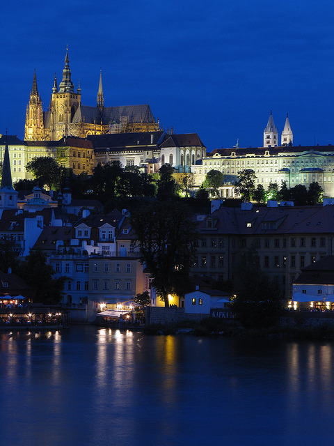 Prague by night / Czech Republic