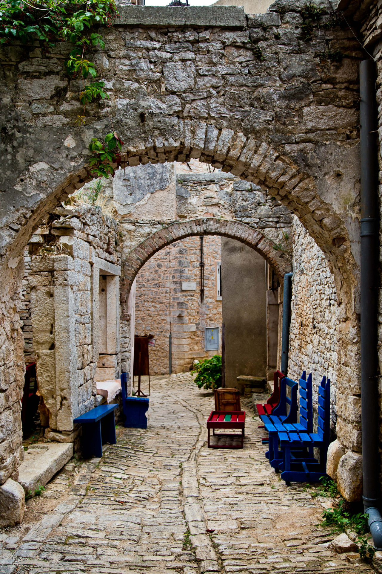 Arches in Valle / Croatia